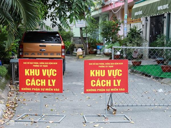 TP.HCM: Phong tỏa 8 căn nhà ở quận Tân Phú