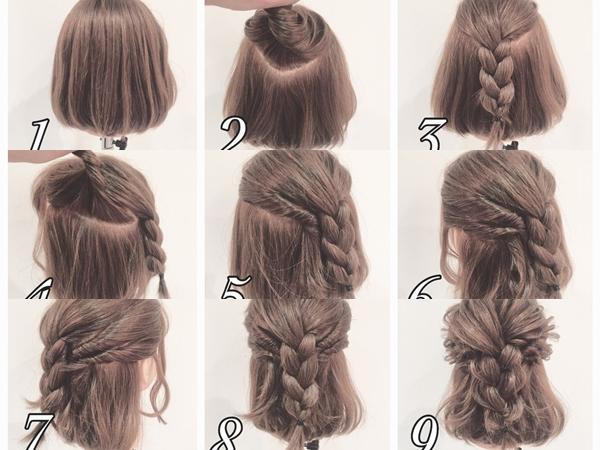 Chia sẻ vài kiểu tạo mẫu tết tóc cực xinh xắn nhẹ nhàng dễ thương!
