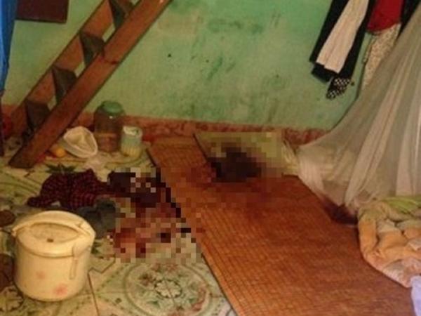 Ghen tuông vì vợ hay nghe điện thoại, chồng dùng dao cắt cổ vợ rồi uống thuốc diệt cỏ tự tử