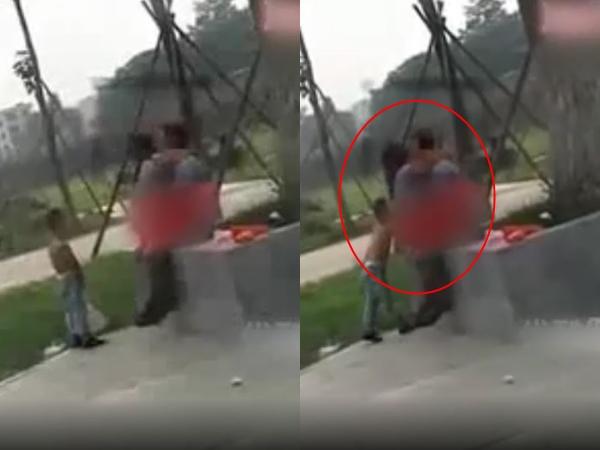 Clip mẹ và người tình thản nhiên 'nhún nhảy', mặc con trai bên cạnh khóc lóc đòi về khiến mạng xã hội dậy sóng