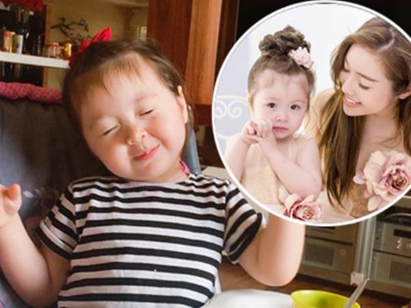 Con gái Elly Trần nhận mình là số 1 vì tự ăn hết bữa tối