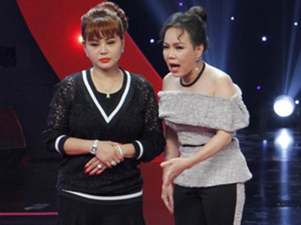 Cười ngất nghe Việt Hương động viên khi Lê Giang tự ti về ngoại hình