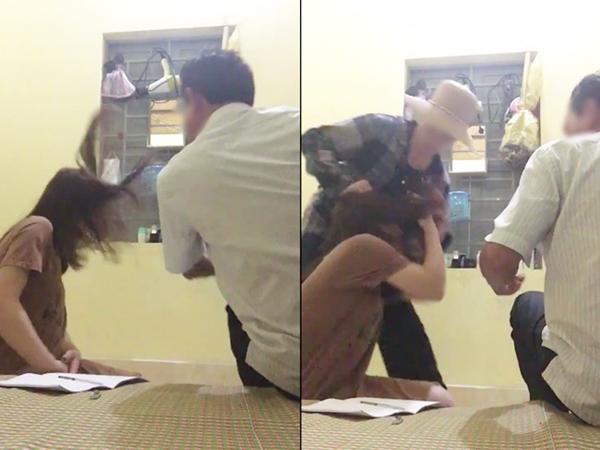 Cả nhà chồng kéo đến phòng trọ đánh ghen, đạp vào mặt bồ nhí: 'Con dâu tao quá lành'