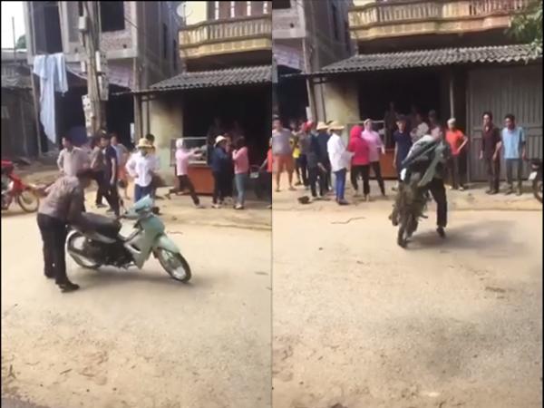 Hành động gây sốc của người đàn ông trong clip đánh ghen giữa đường gây 'bão' mạng