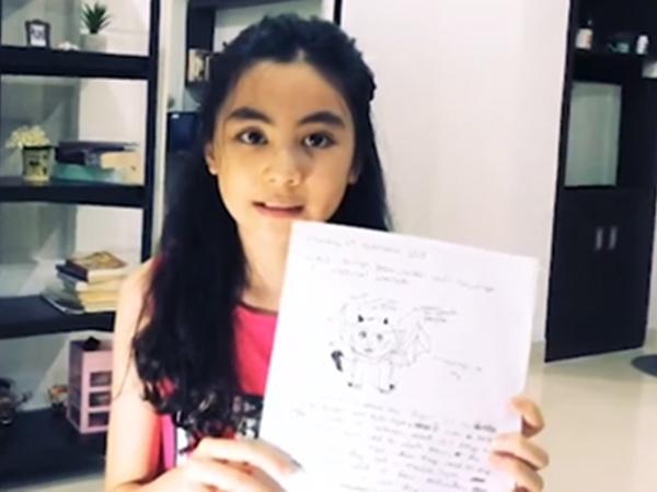 Không chỉ sở hữu nhan sắc ấn tượng, con gái Quyền Linh còn có khả năng 'bắn' tiếng Anh cực chất