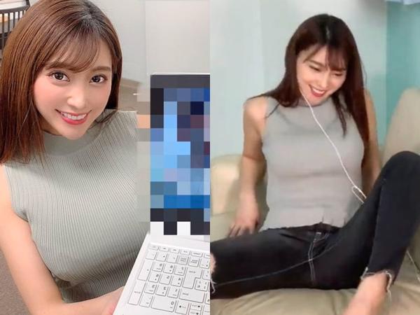 """Livestream trực tiếp cảm xúc khi xem phim """"người lớn"""", cô nàng streamer xinh đẹp nhận về cả tá gạch đá, suýt thì bay kênh"""