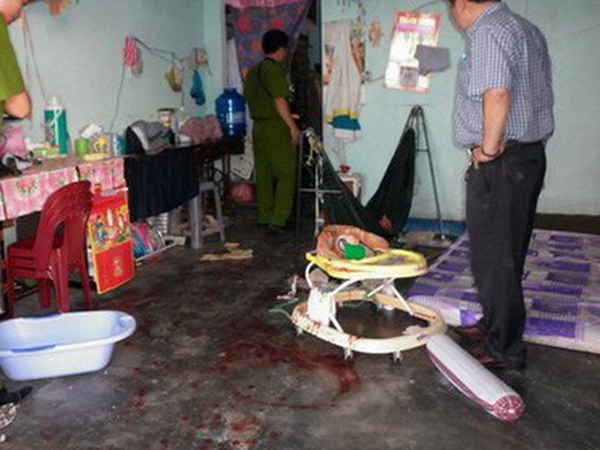 Mâu thuẫn với chồng, người phụ nữ sát hại con trai 2 tuổi rồi tự tử nhưng không chết