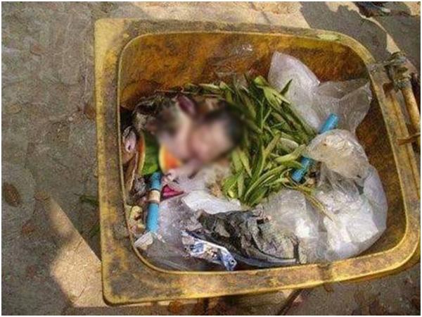 Phẫn nộ: Đẻ rơi trên đường, mẹ 'tiện tay' vứt luôn con vào thùng rác