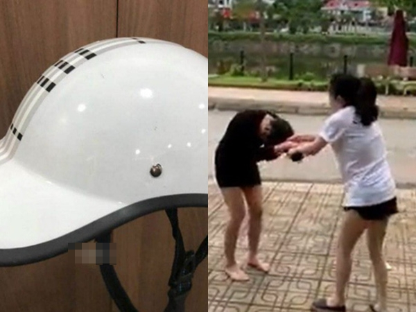 Cô gái phát hiện người yêu ngoại tình chỉ bằng chiếc nón bảo hiểm khiến dân mạng thán phục
