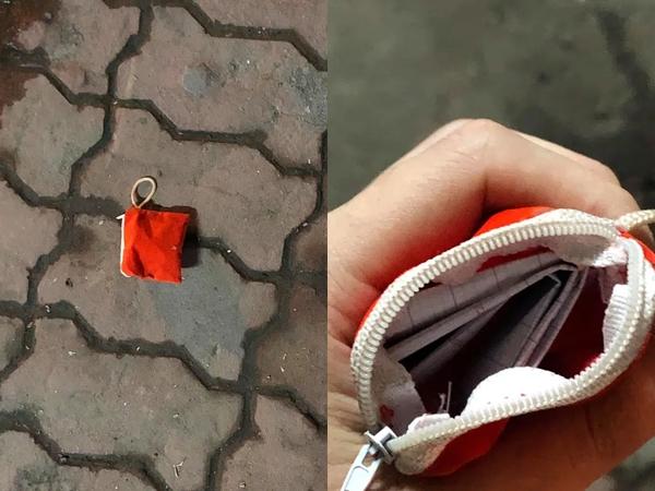 Nhặt được chiếc ví giữa đường, thanh niên bật cười thích thú khi đọc nội dung bức thư nhét bên trong