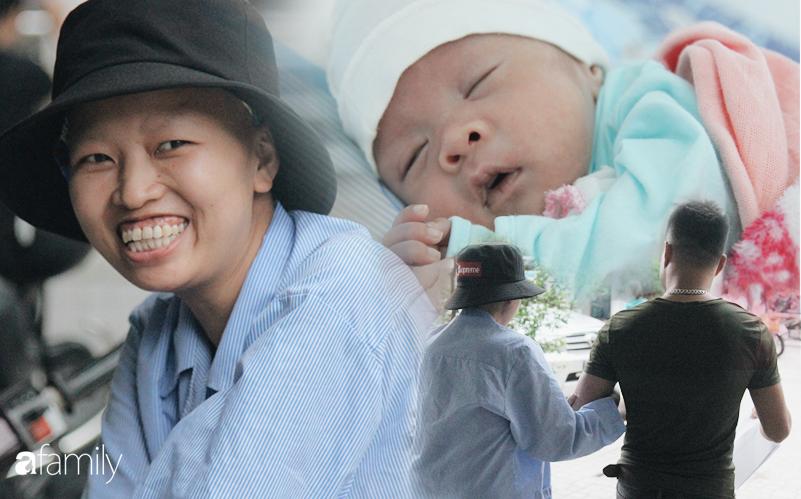 """Nụ cười hạnh phúc của mẹ Liên: """"Bình An ngủ ngoan nhé, mẹ đi bệnh viện rồi sẽ sớm về nhà chơi với con"""""""