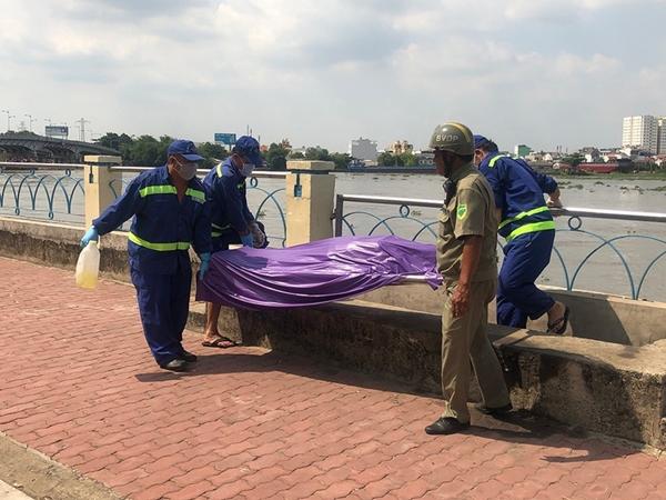 Đang đi dạo công viên thì phát hiện thi thể nữ giới nổi trên sông Sài Gòn