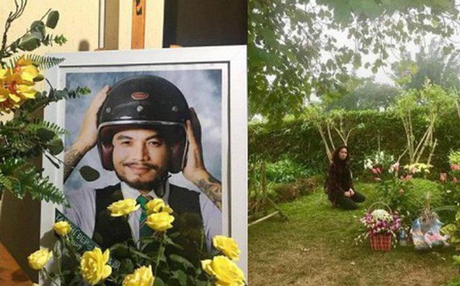 Tròn 3 năm ngày mất cố nhạc sỹ Trần Lập, bà xã đến viếng mộ, thay chồng chia sẻ tâm thư xúc động