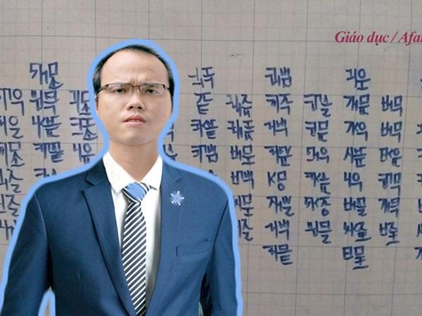 """Tác giả Kiều Trường Lâm tiết lộ: Có người trả 200 triệu cho """"Chữ viết bảo mật"""" mà không bán, khao khát tặng lại cho chính phủ"""