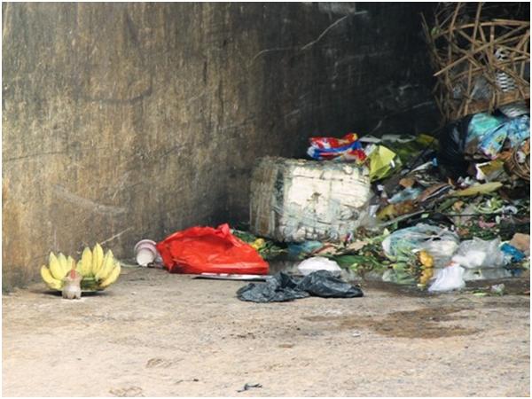Bàng hoàng phát hiện bé sơ sinh nặng gần 4 kg tử vong cạnh bãi rác