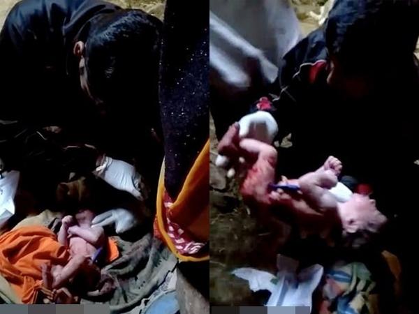 Thai phụ nghĩ quẩn treo cổ, em bé sơ sinh vừa lọt lòng còn nguyên dây rốn lủng lẳng dưới váy mẹ