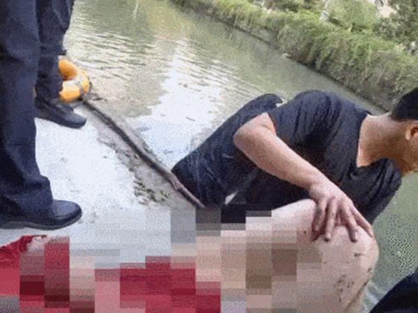 Nhảy sông tự tử nhưng được cứu, người phụ nữ đạp luôn ân nhân xuống sông vì 'muốn chết còn cứu lên làm gì'