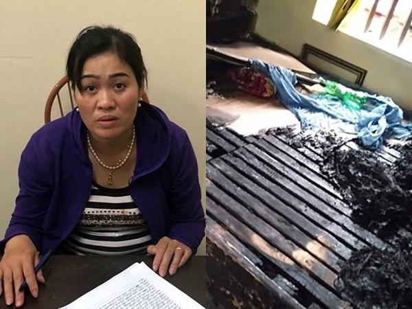 Vụ con gái tẩm xăng thiêu sống mẹ già ở Hà Nam: Người mẹ đã tử vong