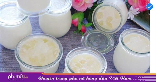 3 cách làm sữa chua nha đam dẻo ngon, ngọt thơm và sánh mịn đơn giản tại nhà