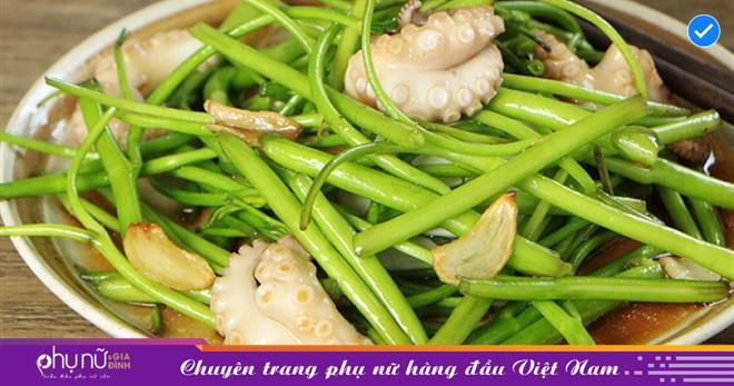 Những cách biến tấu món rau muống xào thơm ngon, giàu dưỡng chất