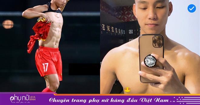 Không phải Duy Mạnh hay Quế Ngọc Hải, nam thần đội tuyển Việt Nam mỗi lần cởi áo khiến chị em đổ cái rụp chính là Văn Thanh