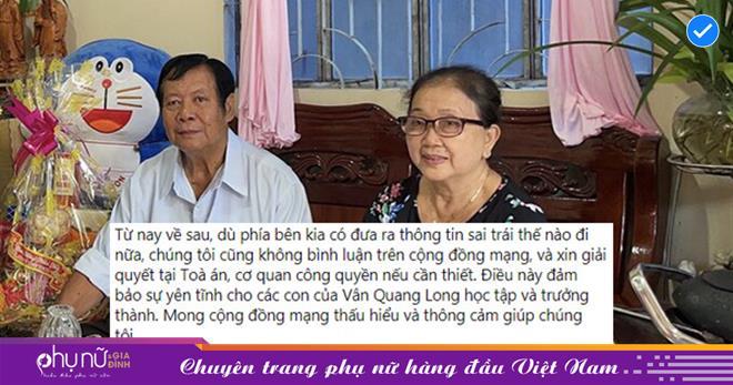 Giữa lùm xùm với Linh Lan, gia đình cố nghệ sĩ Vân Quang Long khẳng định sẽ giải quyết mọi việc bằng pháp luật