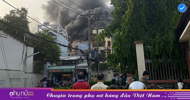 Vụ cháy thương tâm ở TP.HCM: Cả gia đình đông con cháu và 1 cô giáo tử vong, công an họp khẩn