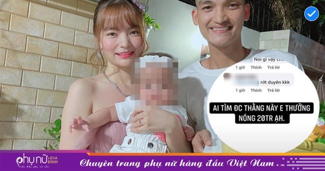 Vợ Mạc Văn Khoa 'nổi đóa' thưởng nóng 20 triệu tìm danh tính antifan 'cả gan' chê con gái