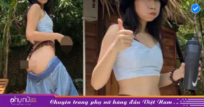 Con gái diva Mỹ Linh lên tiếng về vụ 'tụt quần' khoe vòng 3 và giơ ngón tay thối phản cảm
