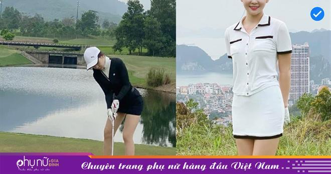 Kín trên kín dưới, mỹ nhân 'bộ môn con nhà giàu' đẹp nhất Việt Nam mỗi lần thả dáng trên sân đều khiến fan 'đứ đừ'