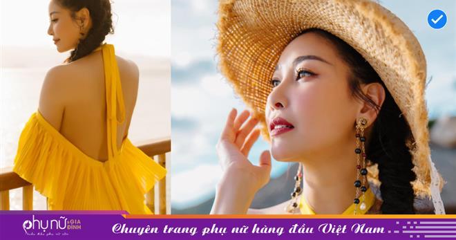 Tuổi 45, hoa hậu Hà Kiều Anh khoe lưng ong gợi cảm, body nuột nà không tì vết