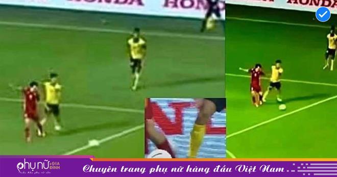 Văn Toàn bị truyền thông Trung Quốc phong làm 'diễn viên bóng đá', sánh với vớiRivaldo sau 'cú ngã 4 tỷ'