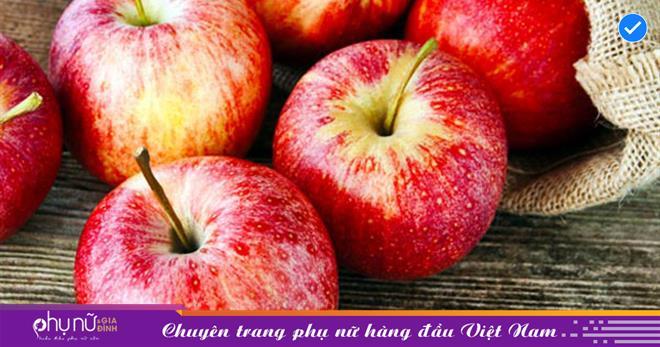 Ăn táo mỗi ngày nhận ngay những lợi ích tuyệt vời đối với sức khỏe