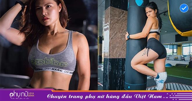 Xuýt xoa trước nhan sắc của nữ Gymer xinh đẹp VÒNG BA 98cm, giành HCV bikini fitness