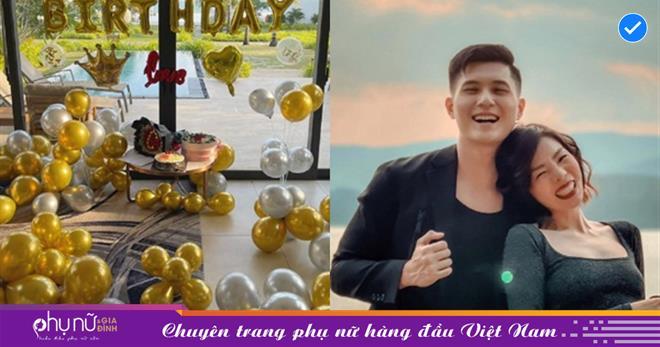 Lâm Bảo Châu được người bí ẩn tổ chức sinh nhật bất ngờ, Lệ Quyên nhắn gửi lời ngọt ngào đến tình trẻ