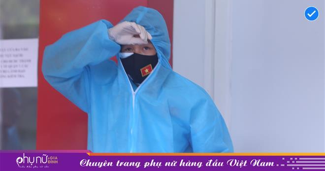 Một tiền vệ của tuyển Việt Nam có nhiệt độ cơ thể cao bất thường sau khi về từ Dubai