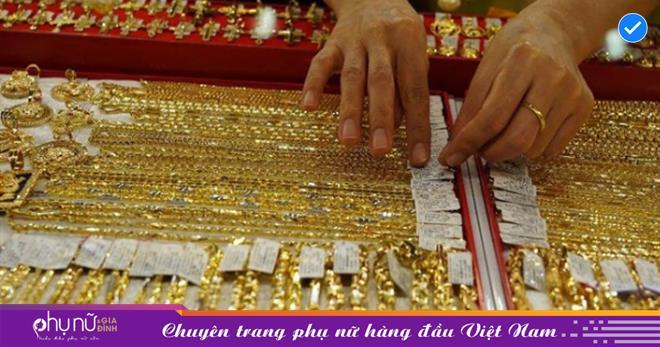 Giá vàng Việt Nam ngày cuối tuần 17/4 tăng vọt