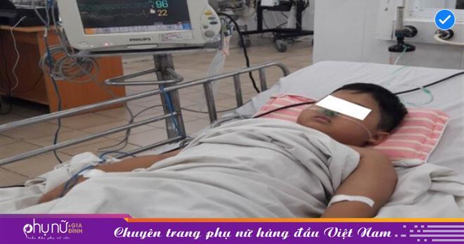 Bé trai 8 tuổi thoát chết trong gang tấc nhờ bệnh viện Nhi Đồng 1 còn đúng 1 chai thuốc giải độc MetHemoglobin