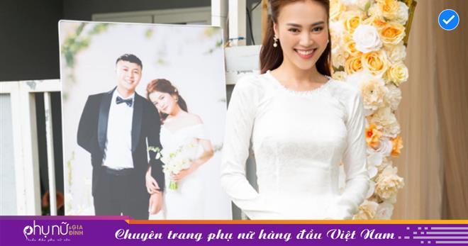 Lan Ngọc 'lỡ' chiếm luôn spotlight của nhân vật chính trong đám cưới em trai, vẻ đẹp dịu dàng khiến netizen thơ thẩn