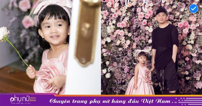 Sướng như con gái nuôi Đỗ Mạnh Cường: Sinh nhật ngập màu hồng ở khách sạn 5 sao, được cả dàn mỹ nhân Vbiz đến chúc mừng