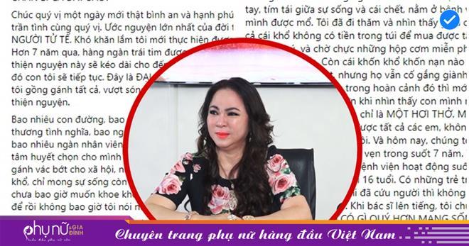 Hé lộ sự thật đau đớn khiến bà Phương Hằng dừng các hoạt động thiện nguyện từ tháng 10 tới đây