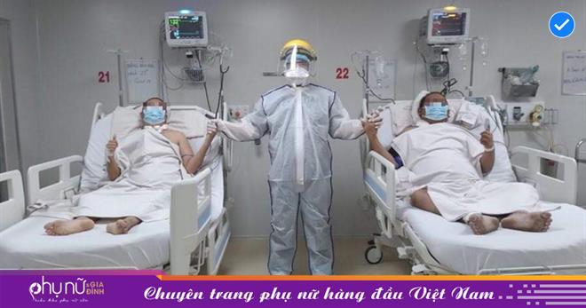Hai anh em từng nguy kịch, suy hô hấp nặng ở Long An được xuất viện