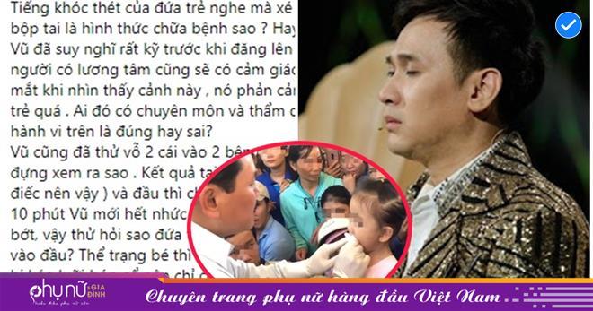 Đắn đo suy nghĩ kỹ, ca sĩ Nguyên Vũ là nghệ sĩ Việt đầu tiên dám ra mặt phản đối vụ 'thần y' Võ Hoàng Yên chữa bệnh