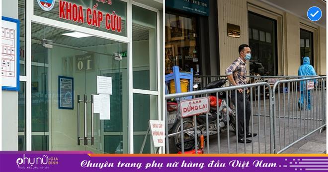 Hà Nội: Phong tỏa nơi ở của cặp vợ chồng dương tính Covid-19, về từ Đà Nẵng nhưng trốn cách ly