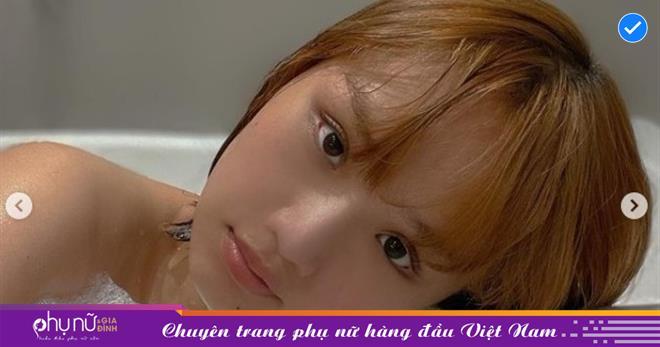Nữ diễn viên 'Những thiên thần áo trắng' khoe ảnh 'ướt át' trong bồn tắm, body 'căng nhựa sống' lấp ló khiến CĐM 'đòi' vào tắm chung