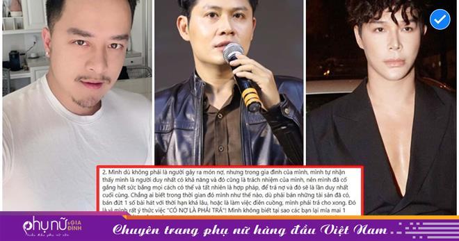 Nguyễn Văn Chung giữa mối quan hệ 'tay ba': 'Mình không biết tại sao các bạn lại mỉa mai 1 người có ý thức trả nợ như mình'