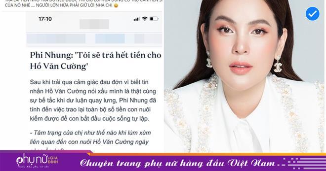 Phi Nhung hứa trả lại tiền cho con nuôi, 'kẻ thù 200 tỷ' nhắc nhở: 'Đừng trừ cấn tiền sinh hoạt nhé'