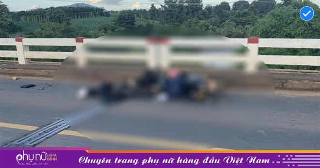 Gặp tai nạn trên đường về quê tránh dịch, chồng tử vong tại chỗ, vợ và 2 con nhỏ bị thương