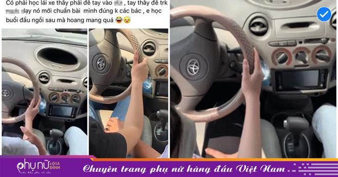 Vụ thầy giáo dạy lái xe bị 'tố' động chạm 'chỗ nhạy cảm' của học viên nữ: Nhà trường lên tiếng, làm rõ vụ việc