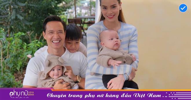 Chỉ cần nhìn qua 1 cử chỉ cũng đủ thấy mối quan hệ 'cha - con' của Subeo và Kim Lý